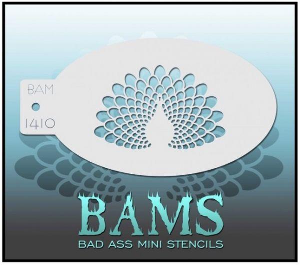 Bad Ass BAM stencil 1410