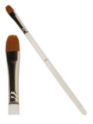 PXP paintbrush flat with rounded top 10 mm wide