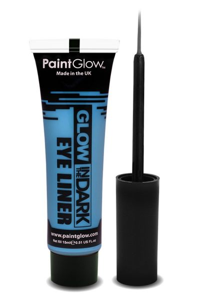 PaintGlow Glow in the dark eyeliner UV neon blue