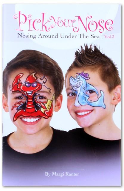 Face Paint Book Pick Your Nose 3 Pxp Professional