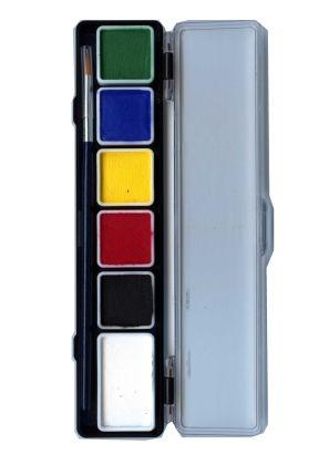 PartyXplosion face paint pallet 6 regular PXP colours