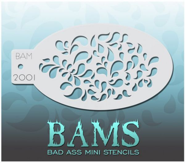 Bad Ass BAMS stencil 2001