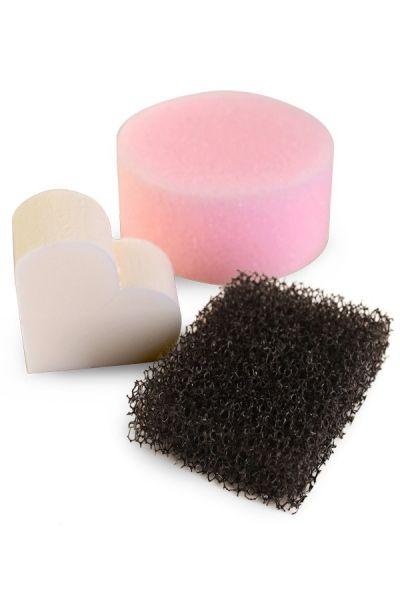 Profi Spronge-set pink sponge stopper sponge latex sponge