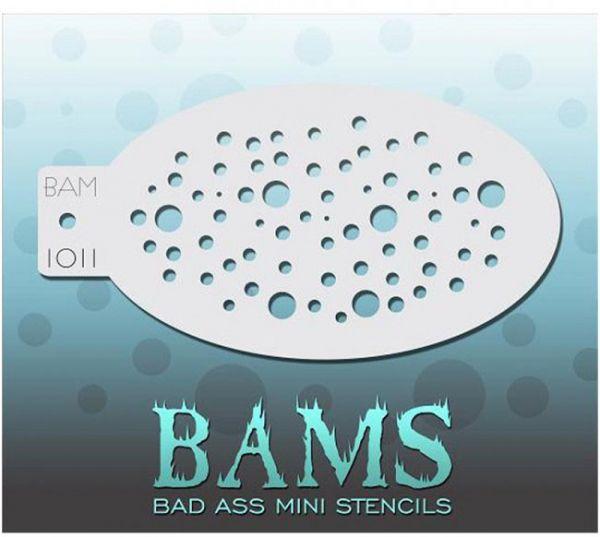 Bad Ass BAMS stencil 1011