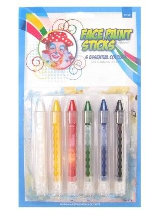 PXP Facepaint regular push-up sticks