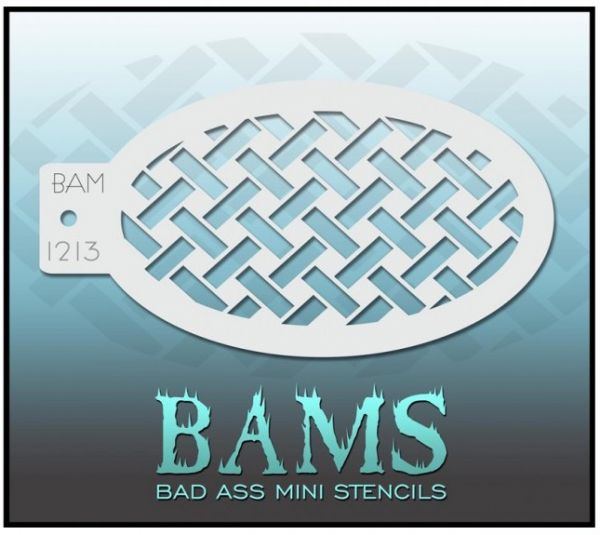Bad Ass BAM stencil 1213