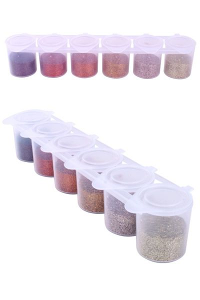 Steampunk colour glitter set Ybody