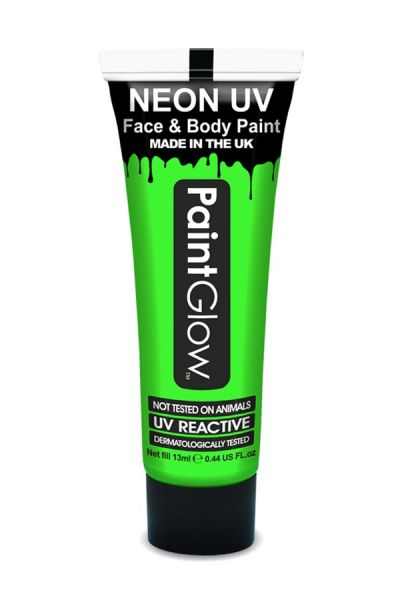 PaintGlow Face and bodypaint neon UV Green