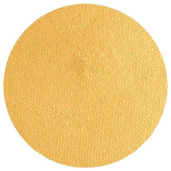 Superstar Face Paint Gold with glitter Shimmer colour 066