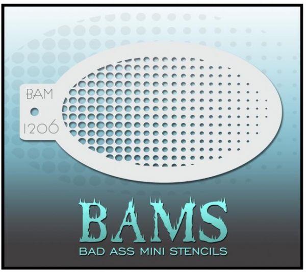 Bad Ass BAM stencil 1206