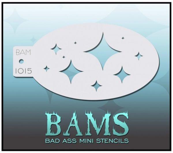 Bad Ass BAM stencil 1015