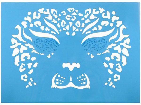 PXP Face Paint Stencils tiger