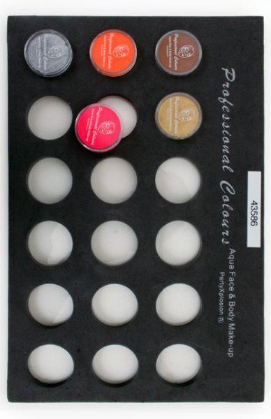 PXP Face Paint case Trayfor 10 gram pots