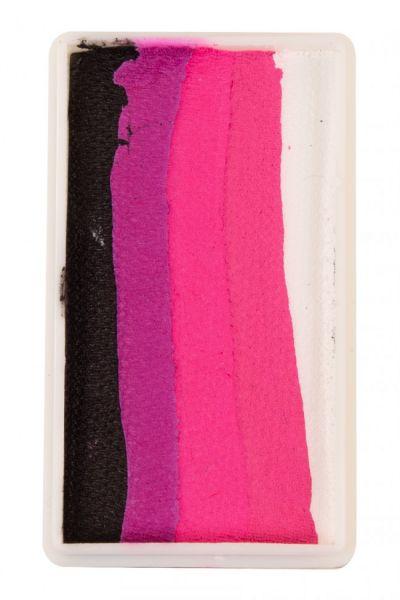 PXP split cake Black Magenta Neon red Pink white