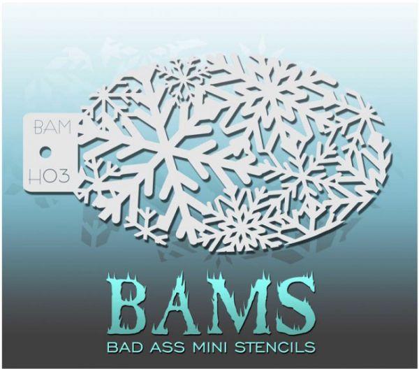 Bad Ass BAMS stencil H03