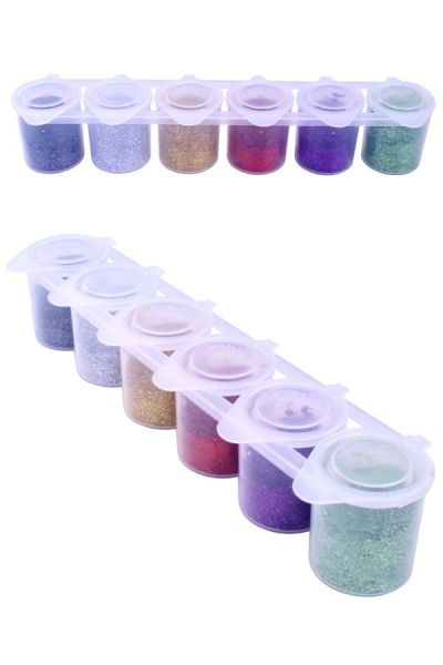 Ybody Colorxplosion glitter colour set