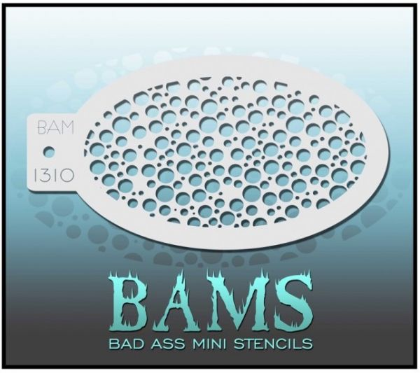 Bad Ass BAM stencil 1310