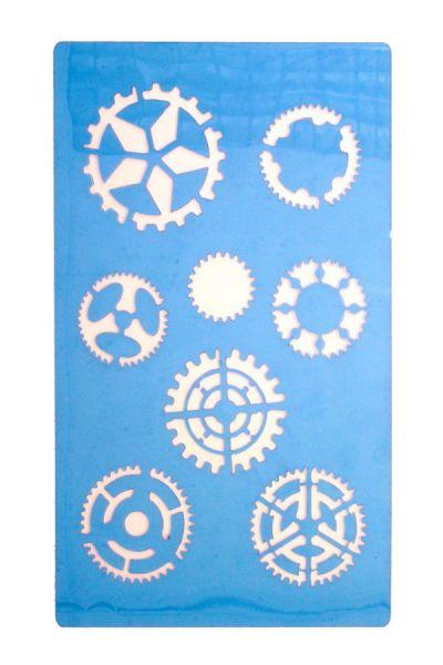 PXP Face paint Stencils Steampunk gears