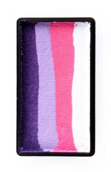 PXP split cake Purple lavender pink white PartyXplosion