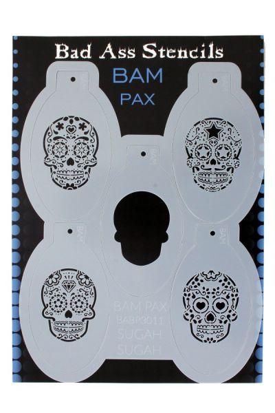 Bad Ass BAM PAX stencil 3011