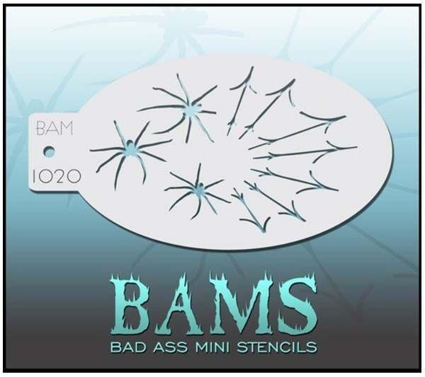 Bad Ass BAMS stencil 1020 spider