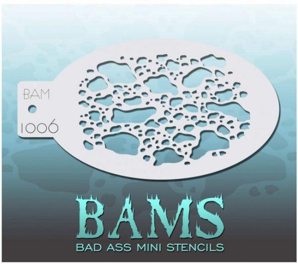 Bad Ass BAMS stencil 1006