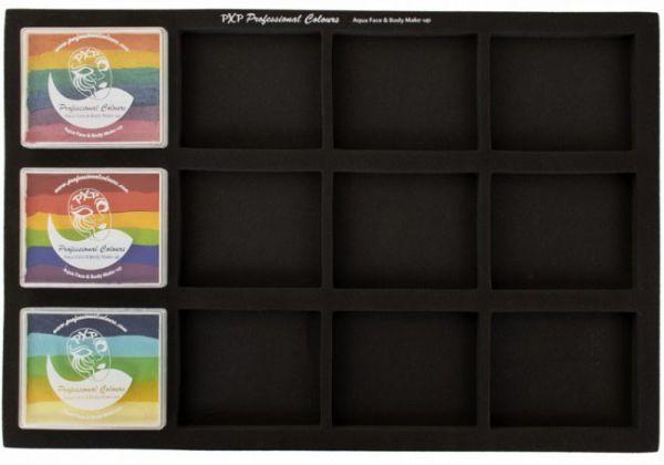 PXP one stroke split cake case Trayfor 50 gram pots