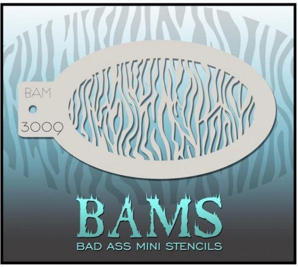 Bad Ass BAM stencil 3009