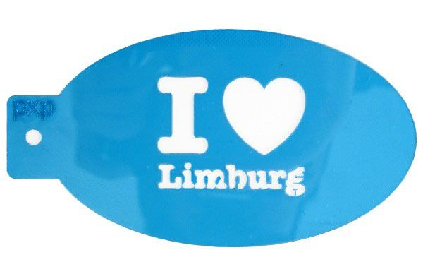 PXP face paint template I love Limburg