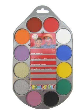 Familyset aqua palette 12 colours