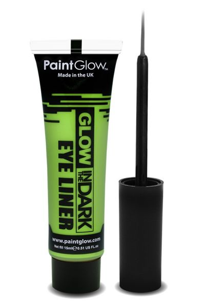 Glow in the dark eyeliner UV neon green